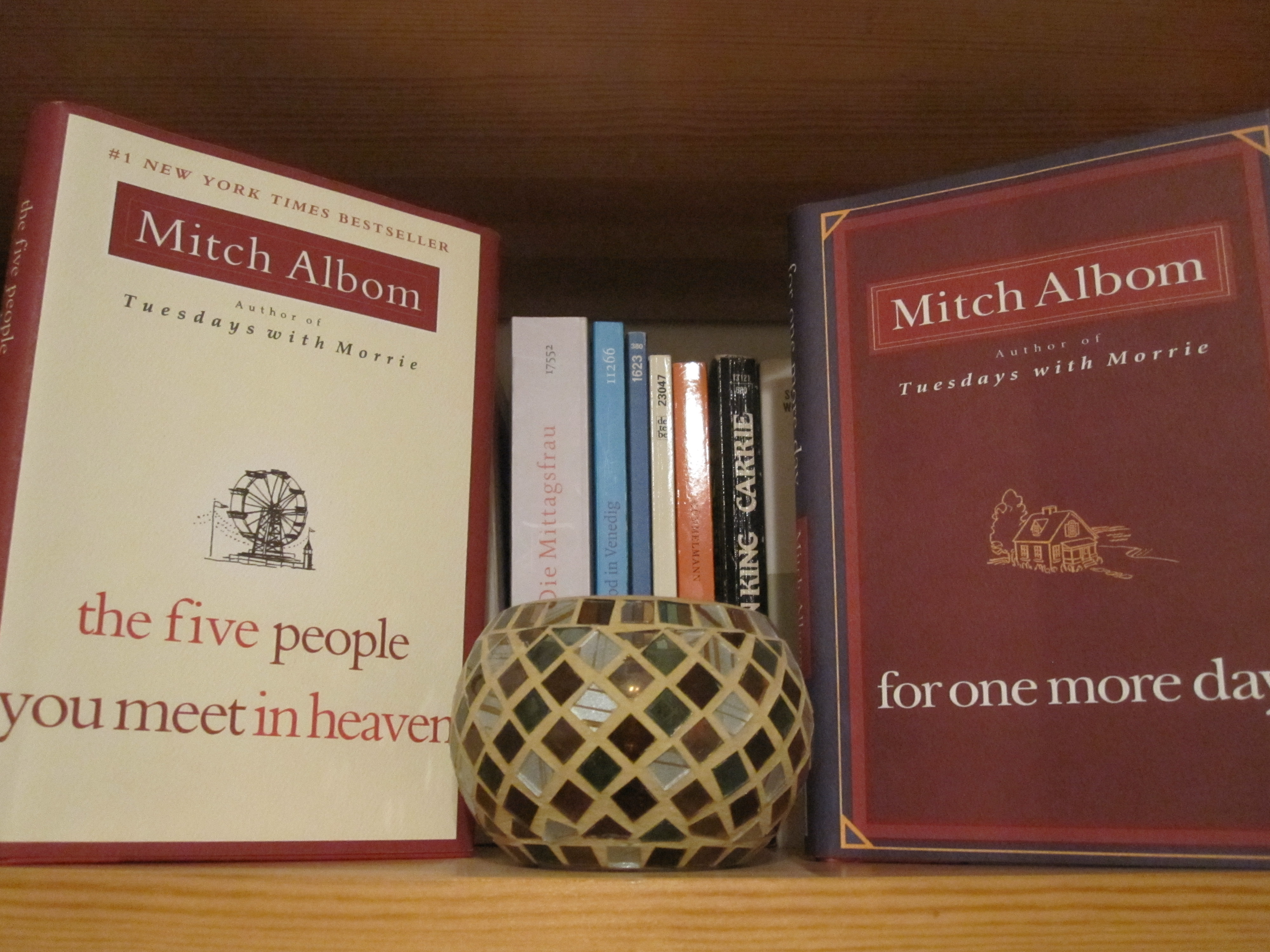 No Matter What You Believe, Mitch Albom Provides An Interesting Approach To  The Idea In His Books The Five People You Meet In Heaven And For One More  Day