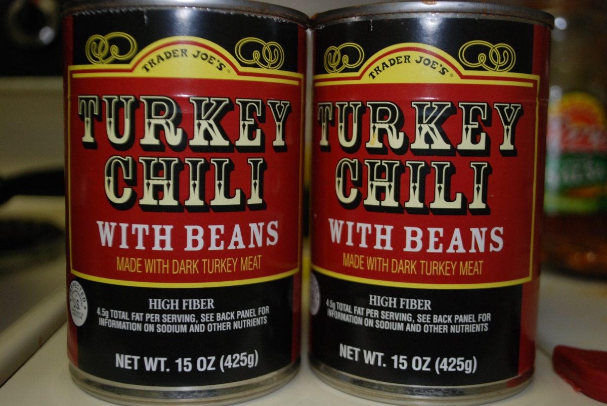 Trader Joe's turkey chili