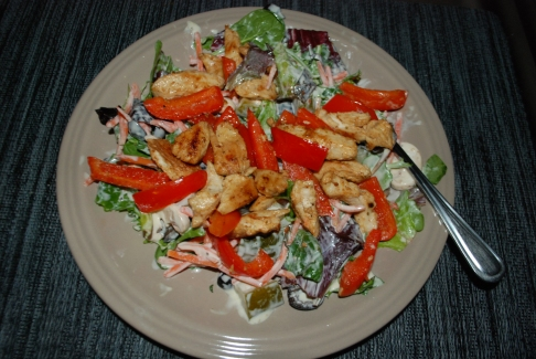 Lemon chicken salad (Jan. 2012)