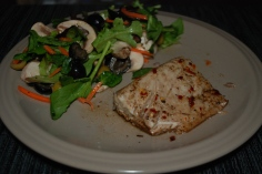 balsamic baked fish