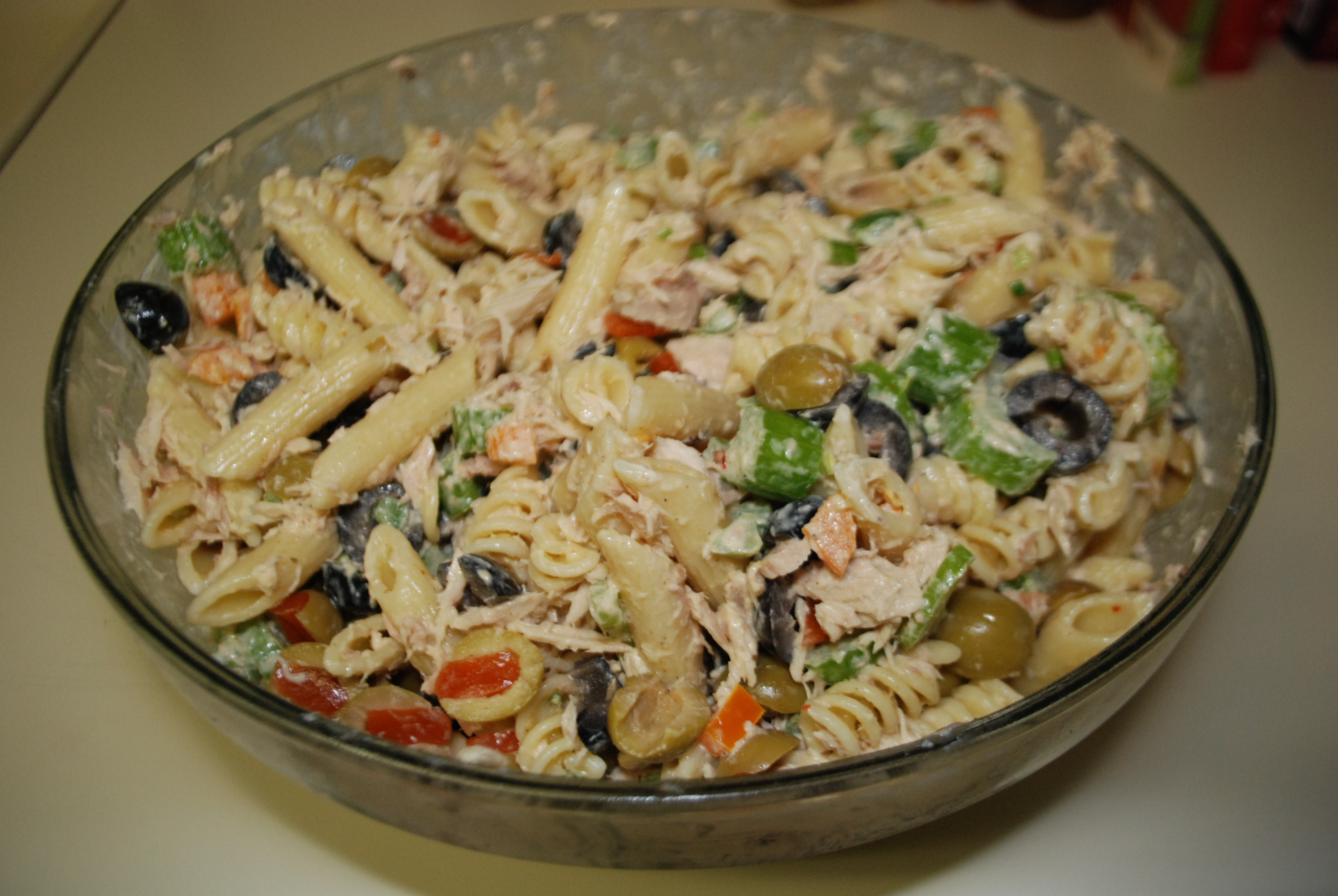 Tuna pasta salad culture jaunt for Macaroni salad with tuna fish