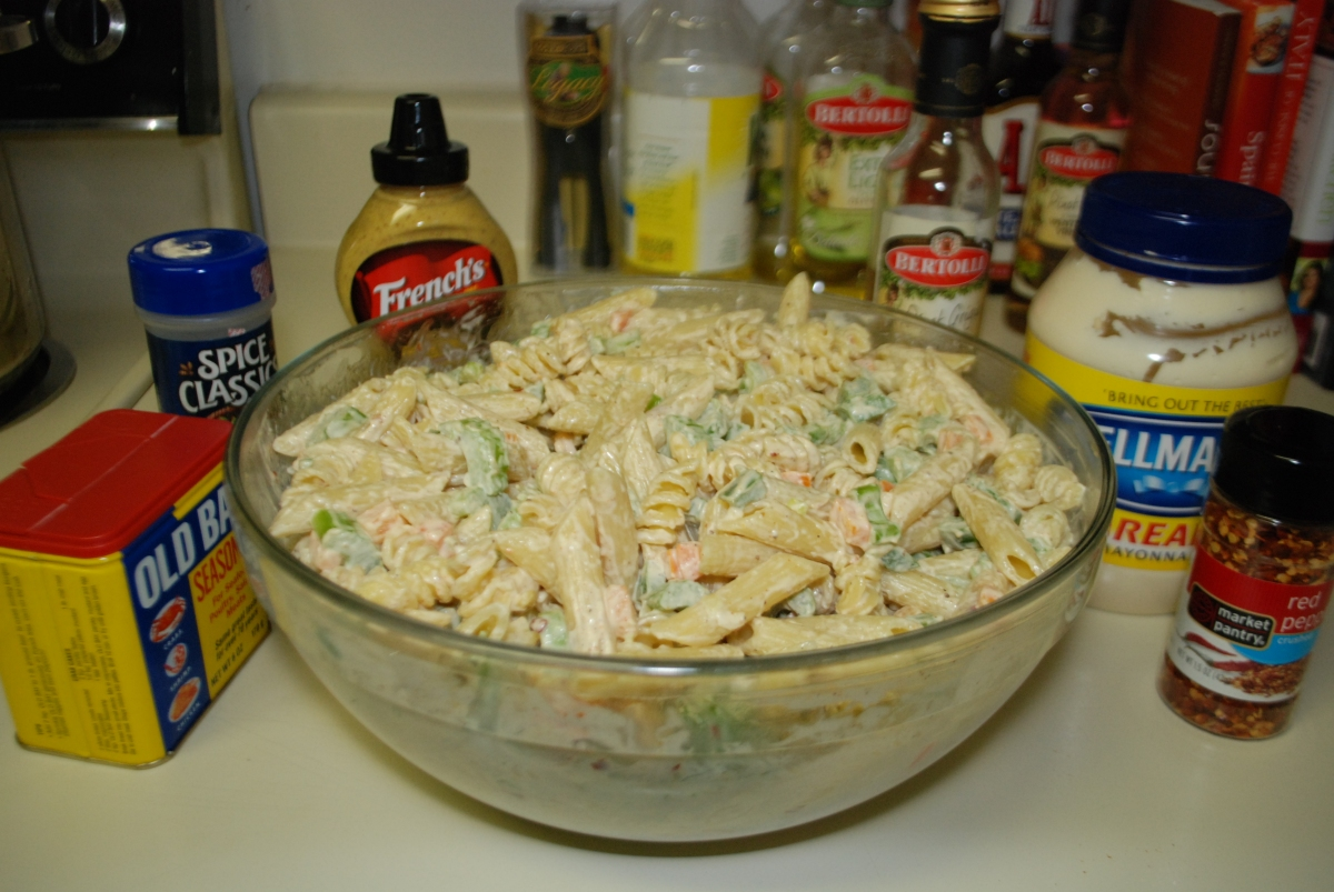 Tuna pasta salad culture jaunt Tuna and philadelphia pasta