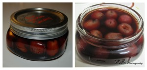 cherries in whiskey duo
