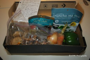 August Foodie Penpals box
