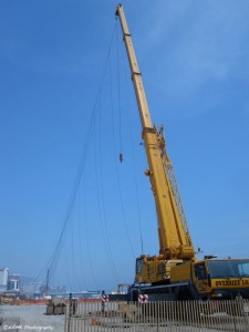 the crane and high wire