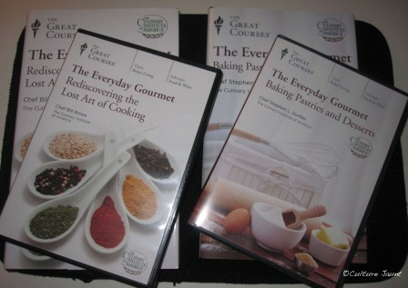 Cooking courses from the CIA. Can't waiti to get started on these!