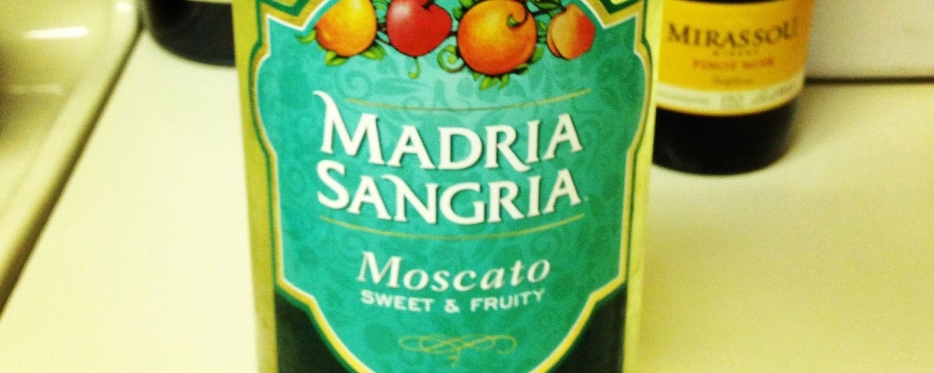 Madria Sangria bottle