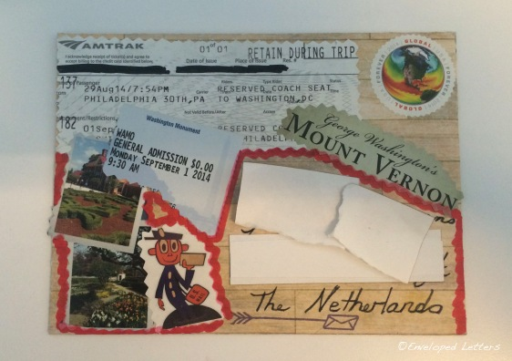 Travel Mail Front