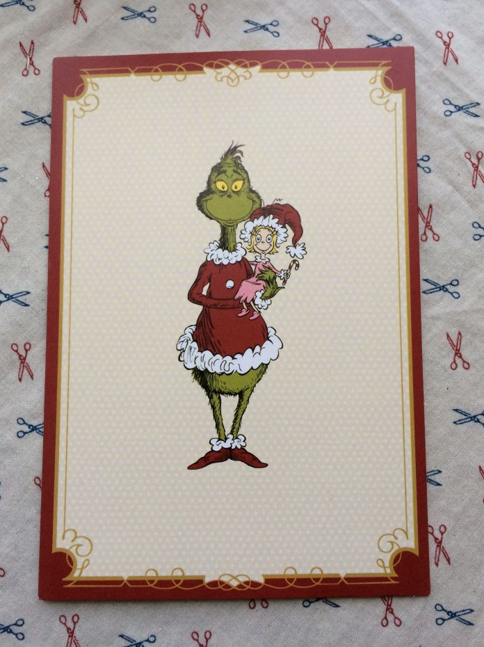The Grinch card