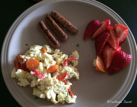 eggs with vegetables