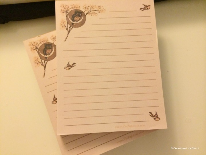 My Stationery of the Week order.