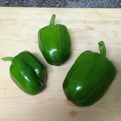 First peppers! July 25